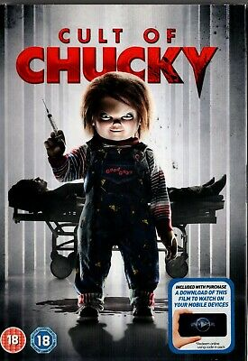 """"""" Cult of Chucky """"  - DVD with Digital Download - NEW & SEALED - FREE UK P&P."""