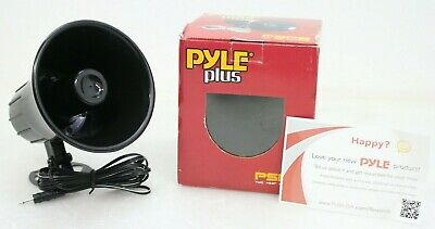 4 LOT OF NEW Pyle PSP8 All Weather 5/'/' PA Mono Extension Horn Speaker