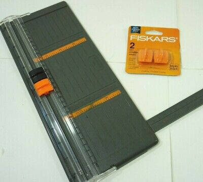 Fiskars Triple Track Replacement Blades Style I - 2 Pack - and Trimmer