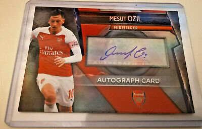 Match Attax ULTIMATE 2018-2019 ☆☆☆ Mezut Ozil VERY RARE Autograph card ☆☆☆
