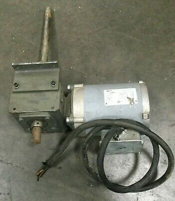 Liftech Motor and Gear Drive / .92 HP / 20:1 Ratio / 461 in. Lbs
