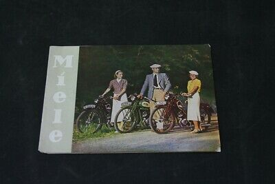 Age Print Miele Motor-Cycling Old Vintage Advertisement Advertising