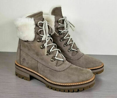 c6775b4ce5f TIMBERLAND COURMAYEUR VALLEY Shearling Lined Boot Women's (Size 8.5 ...