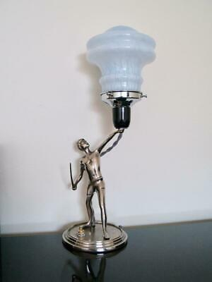 FANTASTIC FRENCH ART DECO 1920's-30's TABLE LAMP - REWIRED.