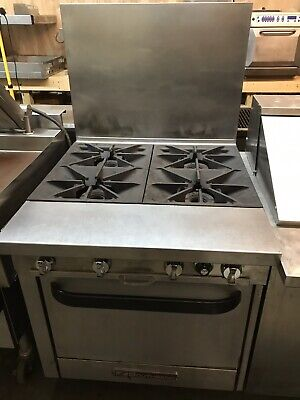 """Southbend 34"""" Gas 4 Burner Range With Standard Oven CLEAN NICE UNIT"""