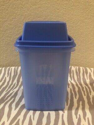 Tupperware Pickle Jalapeño Olive Keeper 4 Cups Blue w/ Matching Seal New