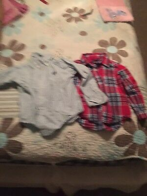 Toddler boys size 3 Polo Shirt Lot By Chaps