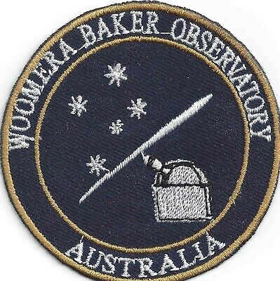 Woomera Baker Observatory patches