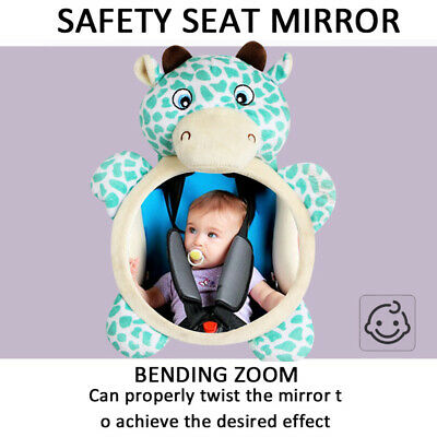 US Mirror Back Seat Safety Easy View Facing Rear Baby Monitor Car Accessories BY