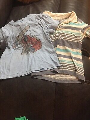 Toddler Boys Gap Size 4 Shirt Lot
