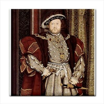 King Henry VIII The 8th Holbein Art Decorative Ceramic Tile