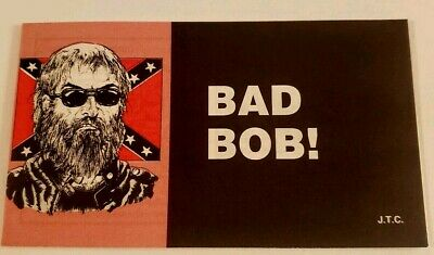 VINTAGE NOS CHICK TRACT Bad Bob! 1999 Jack Chick Publications