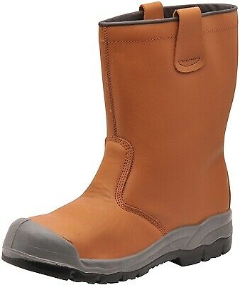 133 Tan Steelite Rigger Boot Uk9 FW13TAR43 Portwest Genuine Top Quality Product