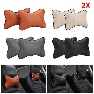 1 Pair of Car Seat Head Neck Rest Relieve Cushion Chair Support Pillow Headrest