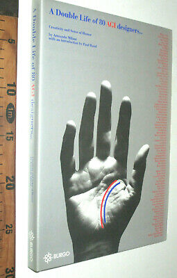 A DOUBLE LIFE OF 80 AGI DESIGNERS BY PAUL RAND 1996 CARTIERE BURGO sc211