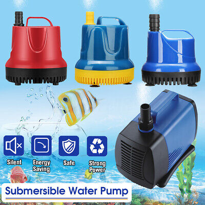 220-5000L/H Submersible Spout Water Pump Aquarium Fish Pond Tank Fountains 🔥 🔥