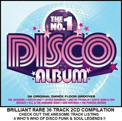 Best Greatest Disco Hits Collection 2CD Trammps Odyssey Pointer Sisters LaBelle
