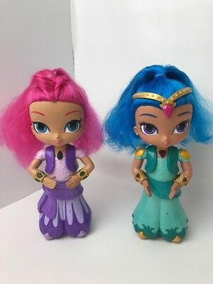 SHIMMER AND SHINE Wish Spin Shine Talk Sing Moves Magic Wishes Granting  DollsToy