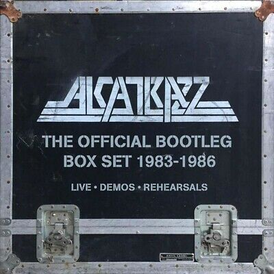 Alcatrazz Official Bootleg Boxset 1983-1986 CD New 2018