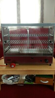 PARRY LPG hot hold food display unit