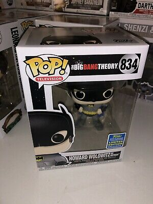 Funko Pop! The Big Bang Theory: Howard Wolowitz As Batman #834 - '19 Shared SDCC