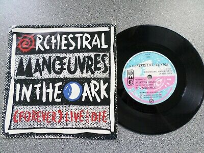 """Orchestral Manoeuvres In The Dark - (Forever) Live And Die - 7"""" Vinyl Single"""