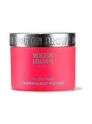 MOLTON BROWN Fiery Pink Pepper 250ml Pampering Body Polisher RRP£35