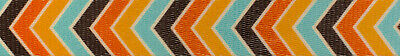 Country Brook Design® 1 Inch Harvest Chevron Polyester Webbing, 50 Yards