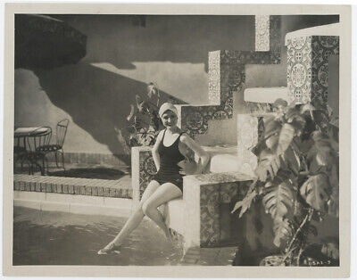 1926 Mary Brian Lost Silent Film Stepping Along Jazzy Bathing Beauty Photograph
