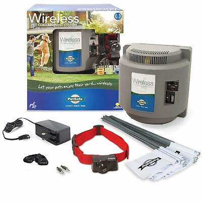 PetSafe Wireless Dog and Cat Containment System -Above Ground Electric Pet Fence