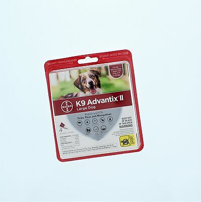 K9 Advantix II Large Dog 4 Pack Flea And Tick
