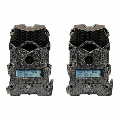 Wildgame Innovations Mirage 16 Lightsout 16MP 720p Game Camera, Camo (2 Pack)