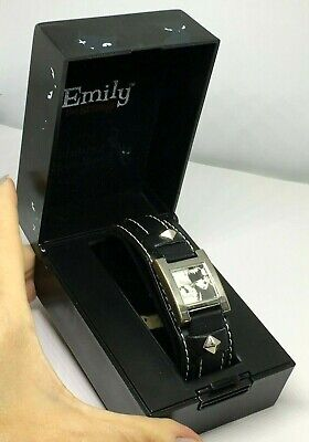 ULTRA RARE Retired Emily the Strange RUNNING OUT OF TIME Watch with Original Box