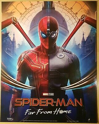 New Marvel Studios Spider-Man Far From Home Cinema Odeon Film Glossy Poster