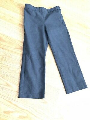 Girls Grey School Trousers George 4-5