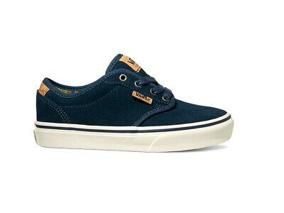 VANS YOUTH SKATE Shoes Atwood (Canvas) Airplane Camo UK 3.5