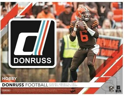 2019 DONRUSS FOOTBALL CARD SINGLES - Complete Your Sets!
