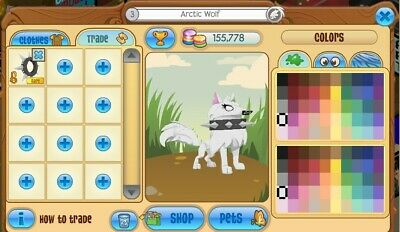 Animal Jam - Rare Black Long Spiked Collar ( Fast Response )