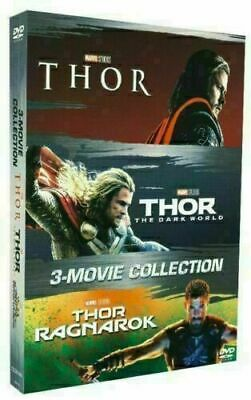 THOR 3-Movie Collection [DVD Box Set ] Complete Trilogy 1 2 3. Free Shipping