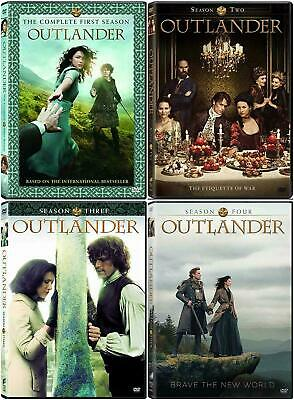 Outlander Complete Seasons 1-4 1 2 3 4 (DVD, 2019,17-Disc Box Set) NEW