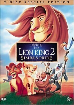 The Lion King 2: Simbas Pride - Special Edition (DVD, 2004, 2-Disc Set) FREE SH!