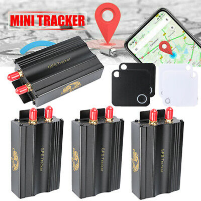 Lot Mini GPS/SMS/GPRS Tracker Locator Tk103A Vehicle Car Tracking Device System