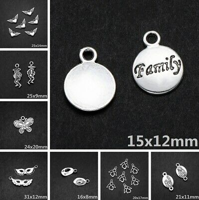 Wholesale Tibetan Silver Metal Alloy Charms Loose Spacer Beads Jewelry Making