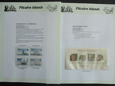 ESTATE: Pitcairn Islands Collection on Pages - Must Have!! Great Value (P3786)