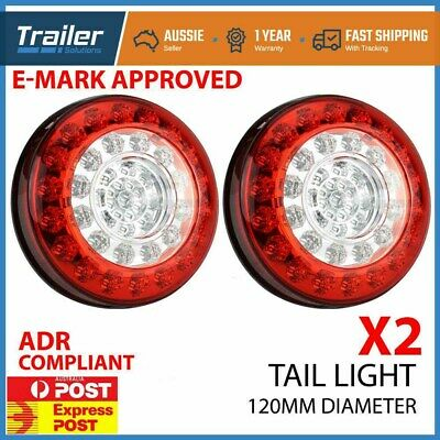 2X Led Trailer Lights Led Stop Tail Indicator Reflector Truck Camper Tail Light