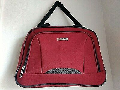 TAG Macys Red Tote Messenger Computer Tablet Laptop Bag CarryOn Adjustable Strap