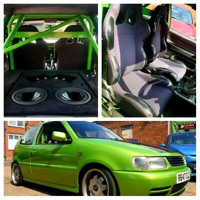 Volkswagen Polo 1.4 - Modified - Roll Cage - Sub & Amps - Coil Overs