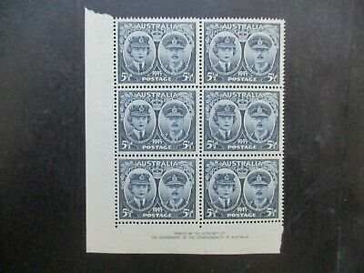 Australian Pre Decimal Stamps: Block (MINT) - Excellent Item, Must Have (T2700)