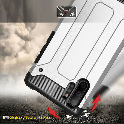 For Samsung Galaxy Note 10 Plus 10 Shockproof Armor Hybrid Rugged PC Case Cover