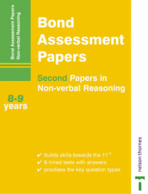 Bond Assessment Papers - Second Papers in Non-Verbal Reasoning 8-9 years, Baines